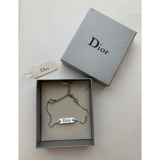 Dior - ディオール ロゴプレート チェーンブレスレット