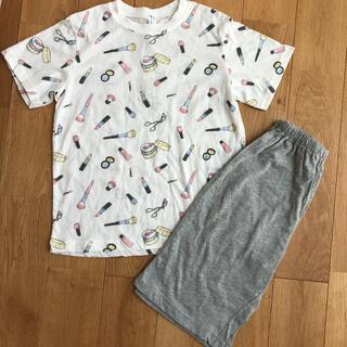 ニシマツヤ(西松屋)の新品 夏用パジャマ 140センチ 女の子(パジャマ)