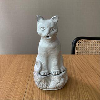 アッシュペーフランス(H.P.FRANCE)のASTIER de VILLATTE アスティエ 猫 インセンスバーナー(お香/香炉)