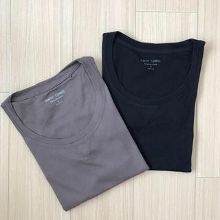 UNIQLO - UNIQLOコットンスリムTシャツ★Mサイズ2枚セット