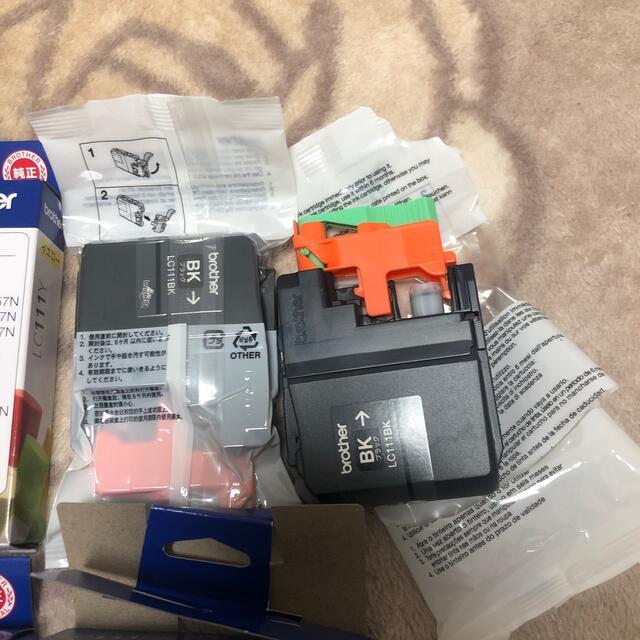 brother(ブラザー)のbrother LC111 純正 セット スマホ/家電/カメラのPC/タブレット(PC周辺機器)の商品写真