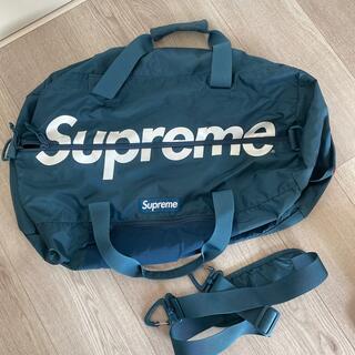 Supreme - Supreme 17SS Duffle Bag ブルー