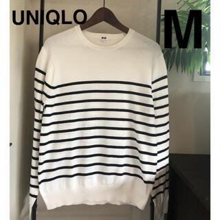 ユニクロ(UNIQLO)のユニクロ 綿セーター MENSサイズM(ニット/セーター)