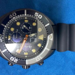 セイコー(SEIKO)の美品 セイコー SBDL065 PROSPEX The Black Series(腕時計(アナログ))