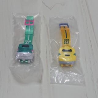 【新品未使用】新幹線 の時計 2つセット(電車のおもちゃ/車)
