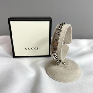 グッチ(Gucci)のGUCCI  グッチ ゴースト スカル シルバー チェーン ブレスレット 925(ブレスレット)