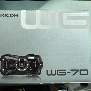 リコー(RICOH)のRICOH WG-70  デジタルカメラ×2台(コンパクトデジタルカメラ)