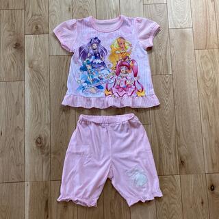 バンダイ(BANDAI)のプリキュア パジャマ 110cm 女の子 バンダイ 半袖(パジャマ)