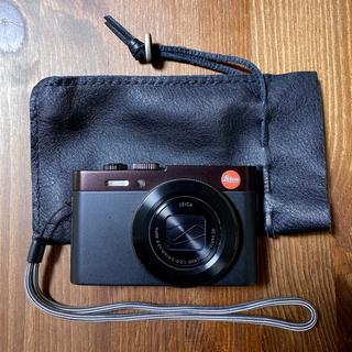 ライカ(LEICA)の【新同品】ライカ Leica C Typ 112 ダークレッド 付属品あり(コンパクトデジタルカメラ)