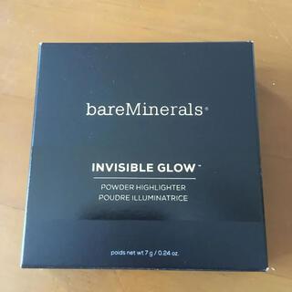 ベアミネラル(bareMinerals)の新品未使用 ベアミネラル インビジブル グロー  7g(フェイスパウダー)