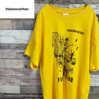 ボウダンショウネンダン(防弾少年団(BTS))の美品 Thisisneverthat tシャツ 激レア 韓国ブランド(Tシャツ/カットソー(半袖/袖なし))