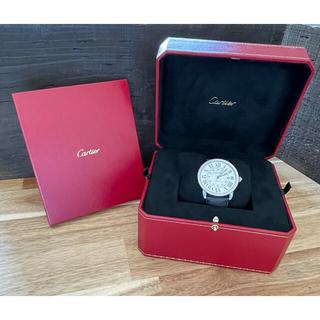 Cartier - 【⭐️2018年11月購入⭐️完品⭐️】カルティエ ロンドソロ 42mm 自動巻