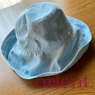 orient・帽子ハット・チャーム付きデニム