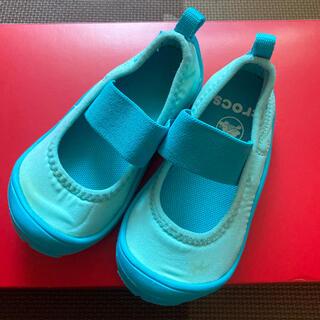 クロックス(crocs)のクロックス ベビー 靴(フラットシューズ)