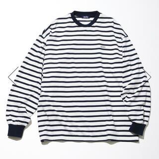 ノーティカ(NAUTICA)のnautica ボーダーロングスリーブTシャツ(Tシャツ/カットソー(七分/長袖))
