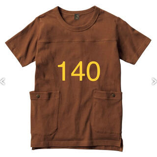 モンベル(mont bell)のワークマン キッズ140 DIAGUARD コットン 防虫半袖Tシャツ 茶色(Tシャツ/カットソー)