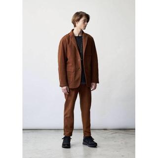 コモリ(COMOLI)のCURLY カーリー モールスキンジャージーセットアップ ジャケット パンツ(セットアップ)
