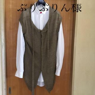ヨウジヤマモト(Yohji Yamamoto)のヨージヤマモトノースリーブカーデガン(カーディガン)