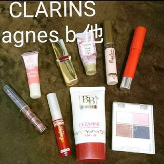 CLARINS - agnes b. CLARINS セザンヌ キャンメイク 他 コスメセット