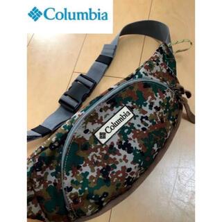 Columbia - 美品‼︎ Columbia コロンビア 迷彩 ウエストポーチ ミリタリー