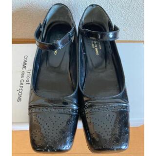 コムデギャルソン(COMME des GARCONS)のトリココムデギャルソン エナメルストラップシューズ(ローファー/革靴)