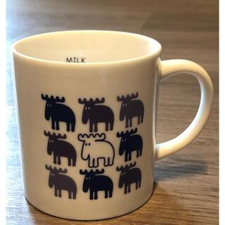 moz マグカップ ネイビー(グラス/カップ)