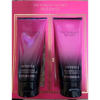 ヴィクトリアズシークレット(Victoria's Secret)の【新品】ヴィクトリアシークレット インテンスフレグランス ウォッシュ&ローション(ボディローション/ミルク)