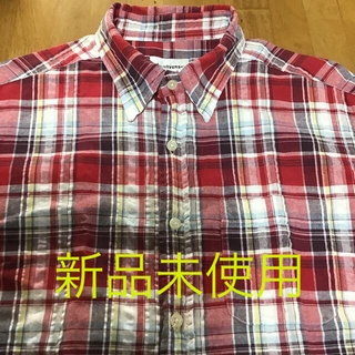 コンバース(CONVERSE)のコンバース メンズ チェック 半袖 シャツ L(シャツ)