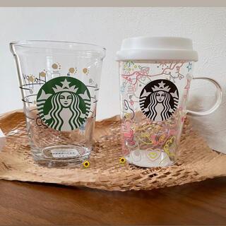 Starbucks Coffee - オンライン完売品 スターバックス 25周年 グラス マグ 2種セット