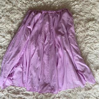 ロペ(ROPE)のロペマドモアゼル スカート(ひざ丈スカート)