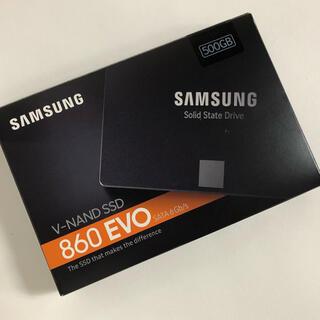 SAMSUNG - 未使用品 SAMSUNG 860 EVO MZ-76E500B/EC
