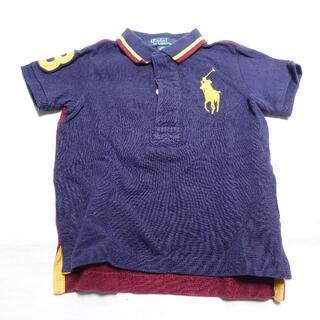 ラルフローレン(Ralph Lauren)のRalph Lauren 半袖シャツ キッズメンズ ネイビー/柄(Tシャツ)