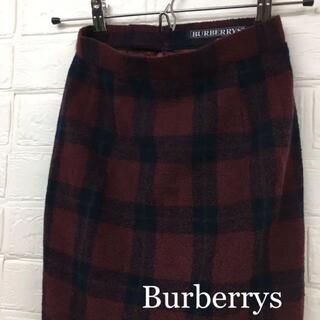 バーバリー(BURBERRY)のBurberrys バーバリーズ タイトスカート チェックスカート(ひざ丈スカート)