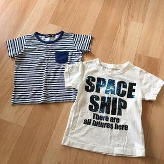 西松屋 - Tシャツ サイズ95と100の2枚セット