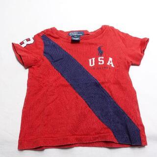 ラルフローレン(Ralph Lauren)のRalph Lauren 半袖Tシャツ キッズメンズ レッド/ネイビー(Tシャツ)