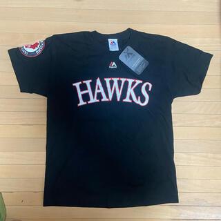 福岡ソフトバンクホークス - ソフトバンクホークス majestic athletic Tシャツ