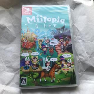 ニンテンドースイッチ(Nintendo Switch)の新品未開封 ミートピア Switchソフト(家庭用ゲームソフト)