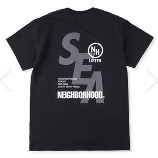 ネイバーフッド(NEIGHBORHOOD)の送込 XL WIND AND SEA NEIGHBORHOOD Tee 黒(Tシャツ/カットソー(半袖/袖なし))