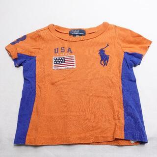 ラルフローレン(Ralph Lauren)のRalph Lauren 半袖Tシャツ キッズ オレンジ(Tシャツ)