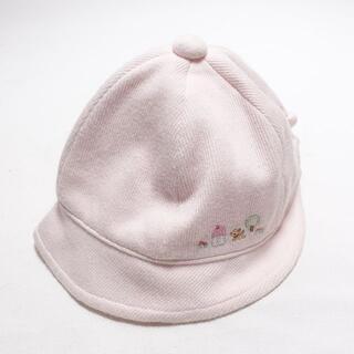 ファミリア(familiar)のfamiliar ぼうし キッズレディース ピンク(帽子)