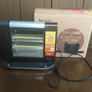 コイズミ(KOIZUMI)のコイズミ KOIZUMI 電気ストーブ スチーム機能付き(ストーブ)
