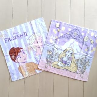ディズニー(Disney)のウォッシュタオル 2枚セット(ハンカチ)