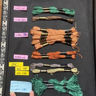 オリンパス(OLYMPUS)のオリムパス、DMC刺繍糸 8本組(生地/糸)