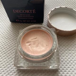 COSME DECORTE - 美品コスメデコルテ ディップイン グロウ クリームハイライター02