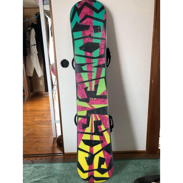 ROME SDS(ロームエスディーエス)のROME SDS CHEAP TRICK 142 スポーツ/アウトドアのスノーボード(ボード)の商品写真