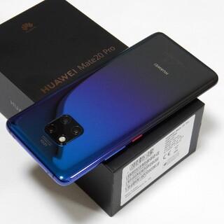 HUAWEI - SIMフリー版 HUAWEI Mate 20 Pro Dual SIM