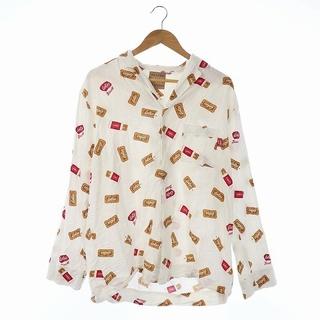 ジェラートピケ(gelato pique)のジェラートピケ HOMME × ロータス 21SS シャツ パジャマ L 白(その他)