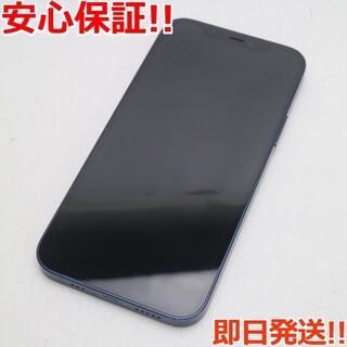 アイフォーン(iPhone)の超美品 SIMフリー iPhone12 128GB  ブルー(スマートフォン本体)