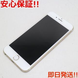アイフォーン(iPhone)の良品中古 SIMフリー iPhone6S 16GB ゴールド (スマートフォン本体)