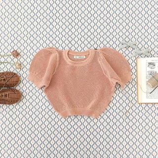 キャラメルベビー&チャイルド(Caramel baby&child )の新品 soor ploom mimi knit top clay 6Y(ニット)